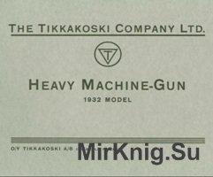 Heavy Machine-Gun 1932 model