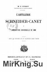 L'Artillerie Schneider-Canet 1900-1902