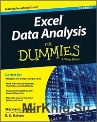 Excel Data Analysis For Dummies, 3 edition