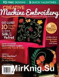 Creative Machine Embroidery January-February 2015