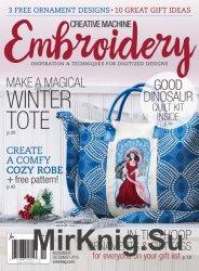 Creative Machine Embroidery November-December 2015