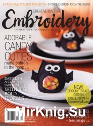 Creative Machine Embroidery – September/October 2015