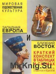 Мировая художественная культура. Западная Европа и Ближний Восток. Краткий конспект в таблицах и схемах