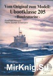 Vom Original zum Modell: Ubootklasse 205 Bundesmarine