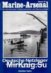 Deutsche Netzleger: Ein unbekanntes Kapitel des Seekrieges 1939-1945 (Marine-Arsenal 37)