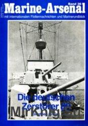 Die Deutschen Zerstorer (II) (Marine-Arsenal 36)