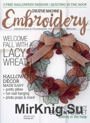 Creative Machine Embroidery - September/October 2016