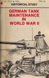 German Tank Maintenance In World War II