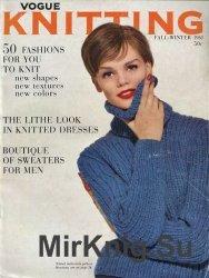 Vogue Knitting - Fall-Winter 1961