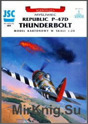Истребитель-бомбардировщик Republic P-47D Thunderbolt [JSC  604]