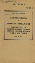 Identification of foreign armored vehicles, German, Japanese, Russian, Italian and French