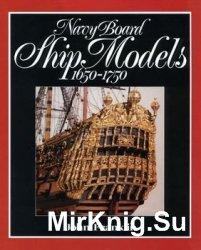 Navy Board Ship Models 1650-1750