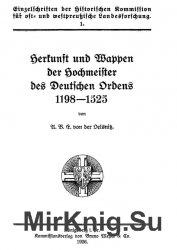 Herkunft und Wappen der Hochmeister des Deutschen Ordens 1198-1525