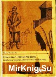 Powstanie Chmielnickiego. Dzialania wojenne na Litwie w latach 1648-1649