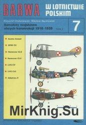Samoloty wojskowe obcych konstrukcji 1918-1939 Tomik 2