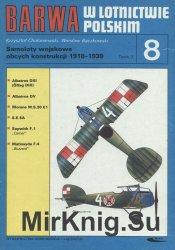 Samoloty wojskowe obcych konstrukcji 1918-1939 Tomik 3