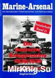 Die Deutsche Kriegsmarine 1938/1939 (Marine-Arsenal Sonderheft Band 11)