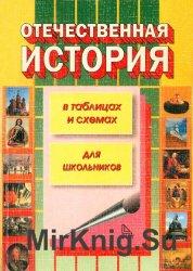 Отечественная история России в таблицах и схемах