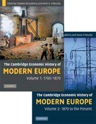 The Cambridge Economic History of Modern Europe, Vols. I and II