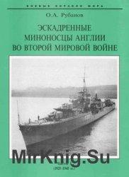 Эскадренные миноносцы Англии во Второй мировой войне (Часть I) (1925-1945) (Боевые корабли мира)