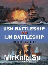 USN Battleship vs IJN Battleship: The Pacific 1942-1944 (Osprey Duel 83)