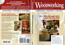 Popular Woodworking 1995-2013 DVD