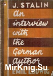 An Interview With The German Author Emil Ludwig