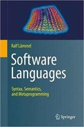 Software Languages: Syntax, Semantics, and Metaprogramming