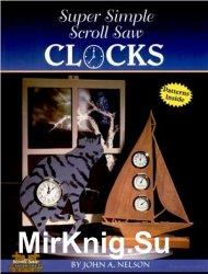 Super Simple Scroll Saw Clocks