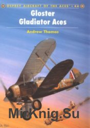 Osprey Aircraft of the Aces 44 - Gloster Gladiator Aces