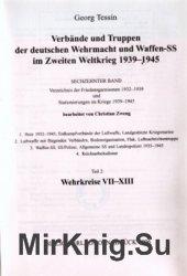 Verbande und Truppen der deutschen Wehrmacht und Waffen-SS im Zweiten Weltkrieg 1939-45. Band 16 Teil 2