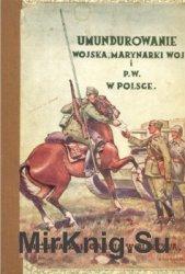 Umundurowanie wojska, marynarki wojennej i Przysposobienia Wojskowego w Polsce