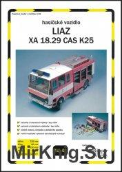Пожарная автомашина Liaz XA 18.29 CAS K25 [Ripper Works 008]