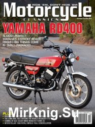 Motorcycle Classics - November/December 2018