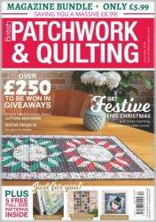 Patchwork & Quilting UK №299 2018
