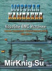 Корабли ВМС Испании периода Гражданской и Второй мировой войны 1936-1945 (Морская кампания 2010-05 (34)