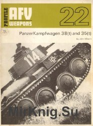 PanzerKampfwagen 38(t) and 35(t) (AFV Weapons Profile 22)
