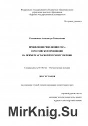 Проявление революции 1905 г. в российской провинции на примере аграрной Курской губернии