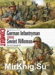 German Infantryman vs Soviet Rifleman: Barbarossa 1941 (Osprey Combat 7)