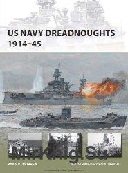 US Navy Dreadnoughts 1914-45 (Osprey New Vanguard 208)
