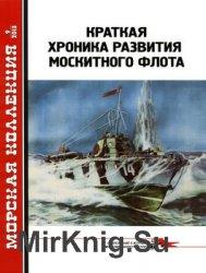 Краткая хроника развития москитного флота (Морская Коллекция 2013-09 (168)