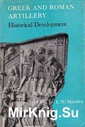 Greek and Roman Artillery: Historical Development