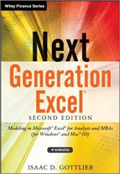 Next Generation Excel: Modeling In Excel For Analysts And MBAs, 2nd Edition