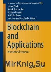Blockchain and Applications. International Congress