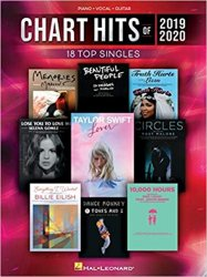 Chart Hits of 2019-2020 Piano/Vocal/Guitar Songbook