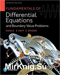 Fundamentals of Differential Equations and Boundary Value Problems, Seventh Edition