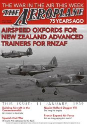 Airspeed Oxfords for New Zealand Advanced Trainers for RNZAF (The Aeroplane 75 Years Ago)
