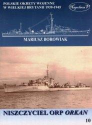 Niszczyciel ORP Orkan (Polskie okrety wojenne w Wielkiej Brytanii 1939-1945. Tom X)