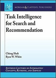 Task Intelligence for Search and Recommendation