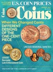 Coins. US Coins Praices 8/2021 (Vol. 68 № 8)